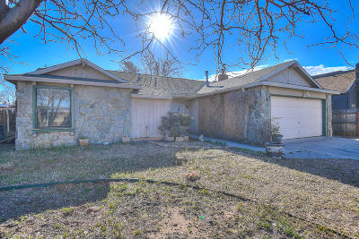 Albuquerque Single Family Home For Sale: 5120 Gaviota NW