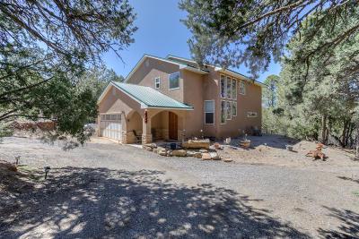 Tijeras, Cedar Crest, Sandia Park, Edgewood, Moriarty, Stanley Single Family Home For Sale: 74 Easy Street