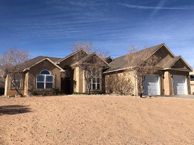 Rio Rancho Single Family Home For Sale: 5516 Vera Cruz Road NE