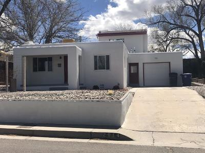 Albuquerque NM Single Family Home For Sale: $299,900