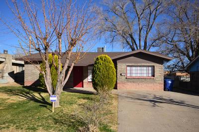 Albuquerque NM Single Family Home For Sale: $149,400