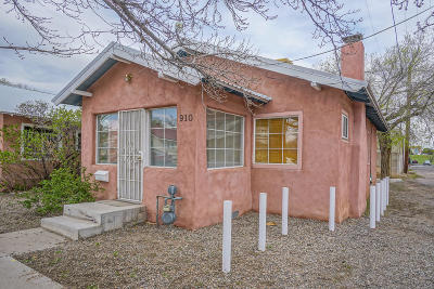 Albuquerque Single Family Home For Sale: 910 5th Street NW