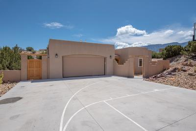 Placitas, Bernalillo Single Family Home For Sale: 121 Forest Lane