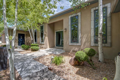 Tijeras, Cedar Crest, Sandia Park, Edgewood, Moriarty, Stanley Single Family Home For Sale: 1 Camino Del Senador