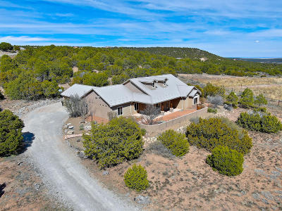 Tijeras, Cedar Crest, Sandia Park, Edgewood, Moriarty, Stanley Single Family Home For Sale: 7 Meadow Land Court