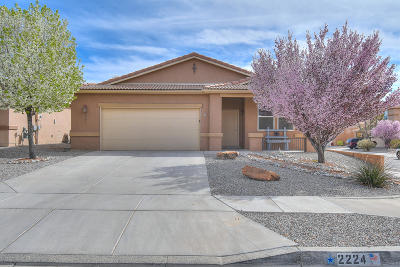Albuquerque, Rio Rancho Single Family Home For Sale: 2224 Montevine Court SE