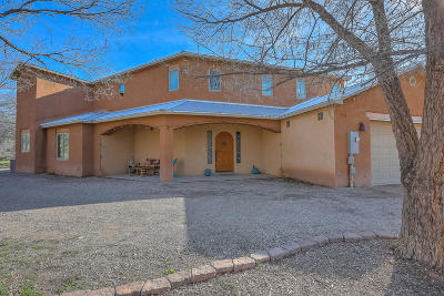 Corrales Single Family Home For Sale: 50 Manierre Road