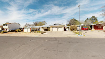 Albuquerque Single Family Home For Sale: 6325 Loftus Avenue NE