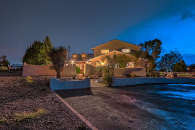 Albuquerque Single Family Home For Sale: 10200 Wilshire Avenue NE