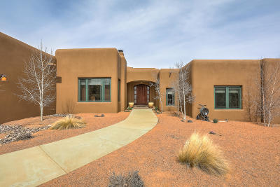 Sandia Park Single Family Home For Sale: 35 Stagecoach Trail