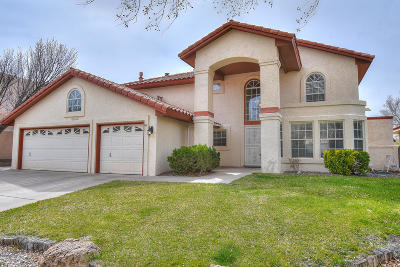Albuquerque Single Family Home For Sale: 7812 Morris Rippel Place NE