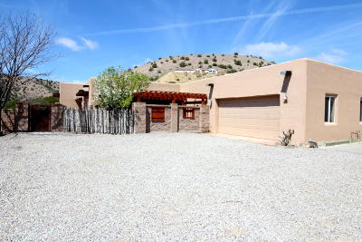 Placitas, Bernalillo Single Family Home For Sale: 5 Camino Tres Ritos