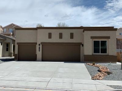Rio Rancho Single Family Home For Sale: 1158 Fascination Street NE