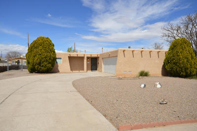 Bernalillo County Single Family Home For Sale: 5713 Paradise Boulevard NW