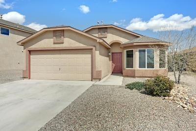Valencia County Single Family Home For Sale: 7 Tome Vista Drive