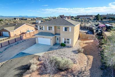Rio Rancho Single Family Home For Sale: 5830 Miller Road NE