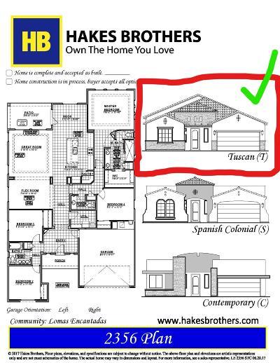 Rio Rancho Single Family Home For Sale: 3641 Soldotna Drive NE
