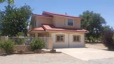 Los Ranchos Single Family Home For Sale: 8150 Guadalupe Trail NW