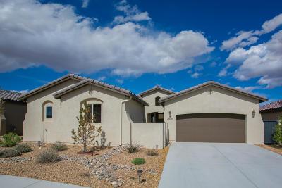 Albuquerque, Rio Rancho Single Family Home For Sale: 2825 La Luz Circle NE