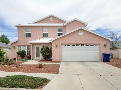Los Lunas Single Family Home For Sale: 1200 Parkview Drive SW