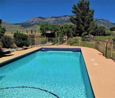 Single Family Home For Sale: 9631 Desert Mountain Road NE