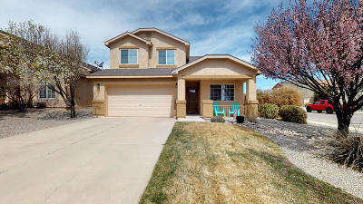 Rio Rancho Single Family Home For Sale: 525 Whispering Meadows Drive NE