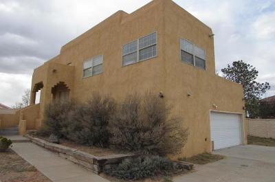 Rio Rancho Single Family Home For Sale: 1024 12th Street SE