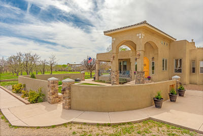 Corrales Single Family Home For Sale: 105 Rome Lane