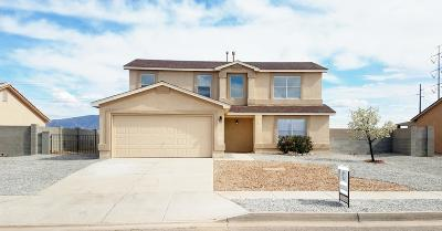 Albuquerque, Rio Rancho Single Family Home For Sale: 4540 Dearborn Hills Drive NE