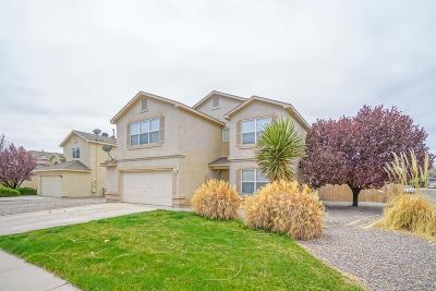 Rio Rancho Single Family Home For Sale: 3017 Pagosa Meadows Drive NE