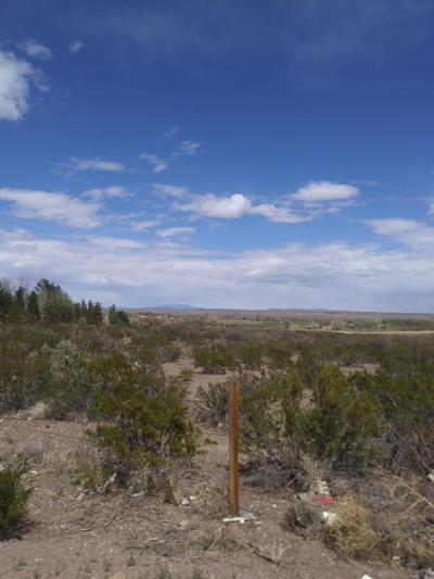 Socorro County Residential Lots & Land For Sale: Chambon Road