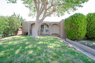Albuquerque Single Family Home For Sale: 1434 Cresent Drive NW
