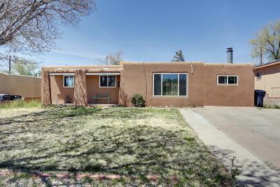 Albuquerque Single Family Home For Sale: 10117 Blume Street NE