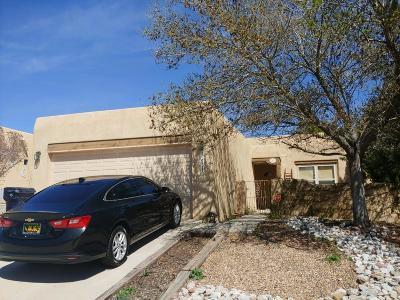 Albuquerque Single Family Home For Sale: 10812 Dandas Drive NW