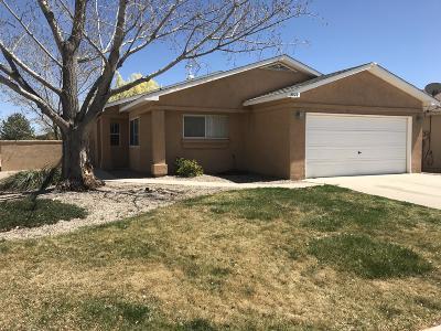 Rio Rancho Single Family Home For Sale: 3020 Chimayo Meadows Drive NE