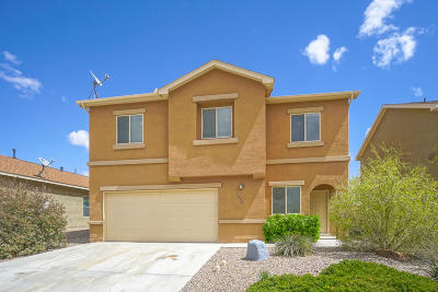 Rio Rancho Single Family Home For Sale: 1008 El Campo Street NW