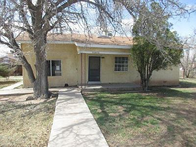 Albuquerque Single Family Home For Sale: 2247 1/2 Perry Road SW