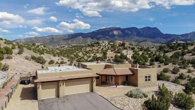 Placitas, Bernalillo Single Family Home For Sale: 33 Calle Del Sol