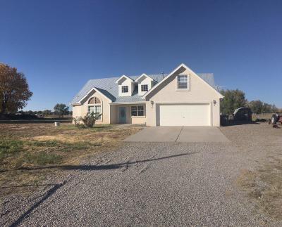 Valencia County Single Family Home For Sale: 1196 John Road