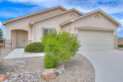 Rio Rancho Single Family Home For Sale: 37 El Camino Loop NW
