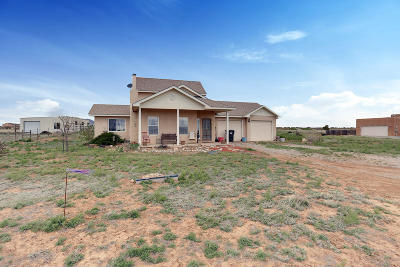 Tijeras, Cedar Crest, Sandia Park, Edgewood, Moriarty, Stanley Single Family Home For Sale: 5 Hermosa Montana