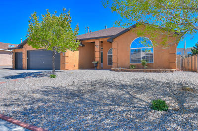 Rio Rancho Single Family Home For Sale: 7247 Milan Hills Road NE