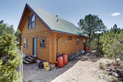 Placitas Single Family Home For Sale: 10 Osha Springs Road