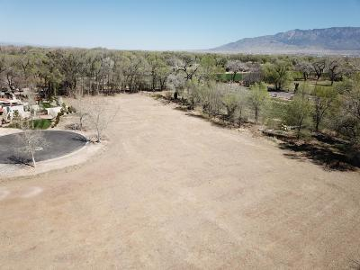 Residential Lots & Land For Sale: 6901 Rio Grande Boulevard