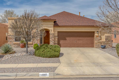 Rio Rancho Single Family Home For Sale: 1507 Salida Sol Drive SE
