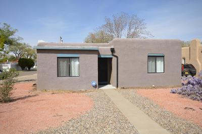Single Family Home For Sale: 401 Carlisle Boulevard NE