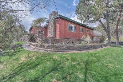 Tijeras, Cedar Crest, Sandia Park, Edgewood, Moriarty, Stanley Single Family Home For Sale: 11681 Nm 337