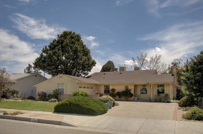 Albuquerque Single Family Home For Sale: 7208 Dellwood Road NE