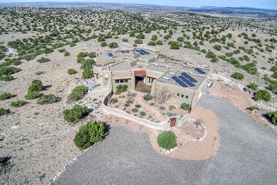 Placitas Single Family Home For Sale: 15 Tres Vidas Ridge