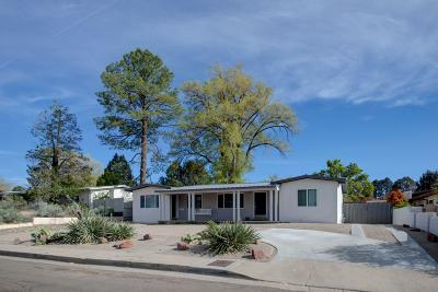 Albuquerque Single Family Home For Sale: 3304 Pershing Drive SE